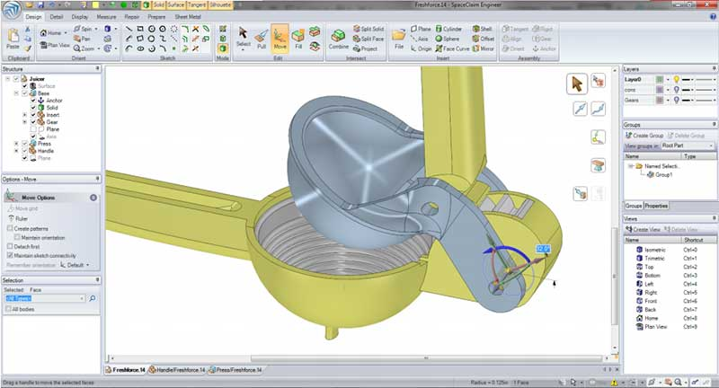 Fikus 3dcad for 3D solid modeling