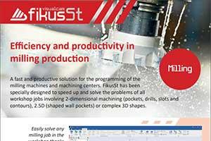 Fikus Visualcam - CAD-CAM software for 2D, 2 5D, 3D milling