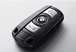 Llave BMW con chip